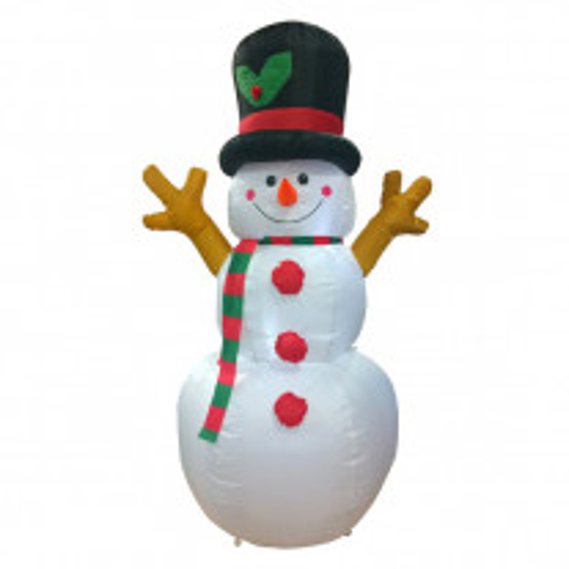 Bonhomme de neige gonflable lumineux original 160cm