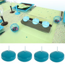 Bougie flottante Turquoise