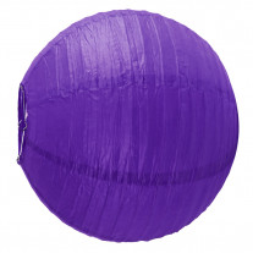 Boule lampion Géante Violet 75cm