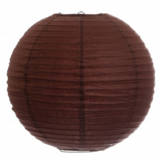 Boule lampion Géante Chocolat 75cm