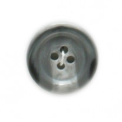 Bouton a coudre gris clair 20mm x 4