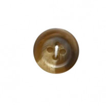 Bouton a coudre marron 15mm x 6