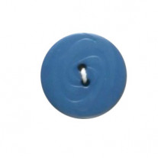 Bouton couture Bleu 19mm x 4 pièces