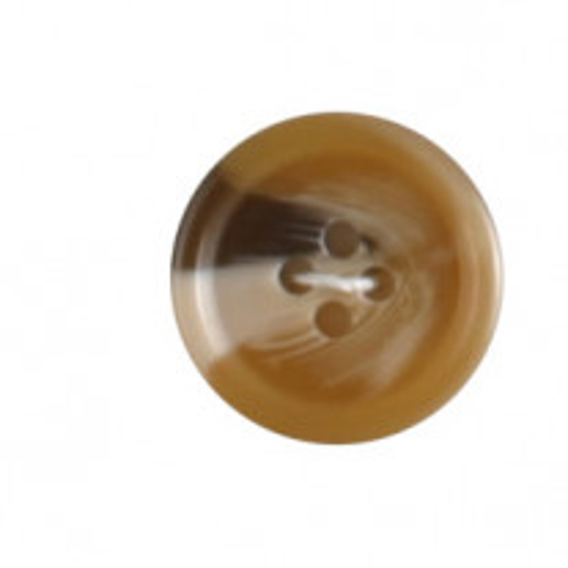 Bouton couture marron 20mm x 4