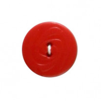 Bouton couture Rouge 19mm