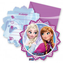 Cartes D'Invitation Reine des neiges