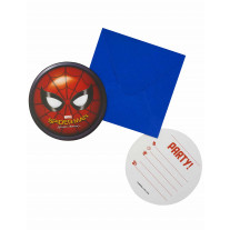 Cartes D'Invitation Spiderman