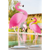 Centre de table Flamant rose 36cm