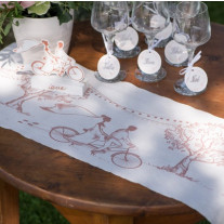 Chemin de table Coton Guinguette