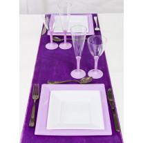 Chemin de table pailleté Violet