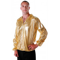 Chemise Disco Night Or