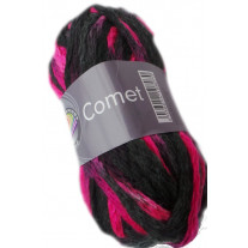 laine à tricoter rose fluo comet grundl