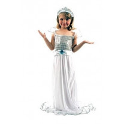 Costume Fille Mariée 4/6 Ans