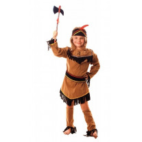 Costume Indienne Sioux 7/9 ans