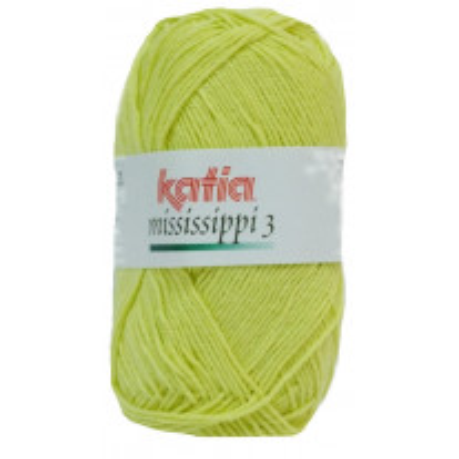 Coton Katia Mississippi 3 Citron Vert
