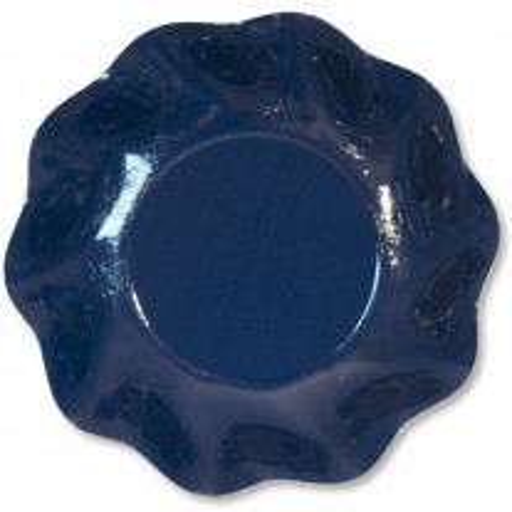 Coupelle en carton jetable Bleu marine vague