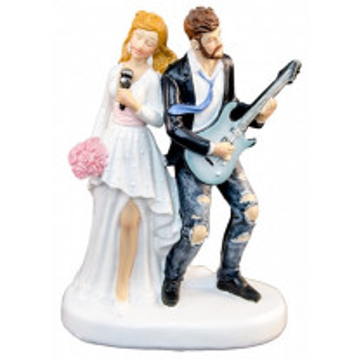 Couple de mariés avec Guitare