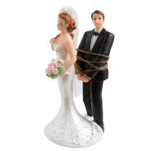 Couple de mariés Ligoté