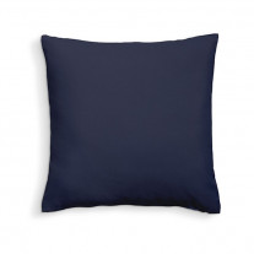 Coussin dehoussable 60x60 Bleu Marine