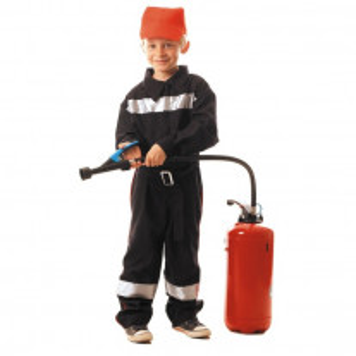 Déguisement enfant Pompier Francais 7 9 ans