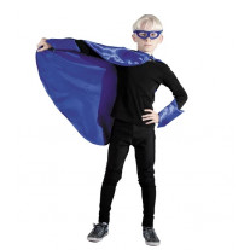Déguisement Enfant Super Héros Bleu