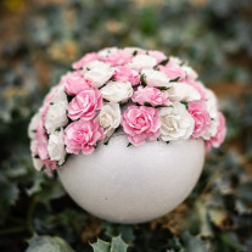 Demi sphere polystyrene 14cm