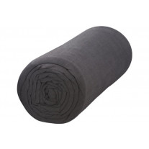 Drap housse 180x200 Gris foncé Percale 100% coton