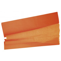 Feuille de papier Crépon Orange 2 m x 50 cm