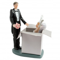 Figurine mariage Charmante Surprise