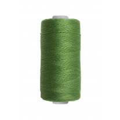 Fil a coudre pas cher vert foncé 500m 100% polyester
