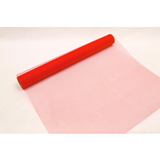 Rouleau de tulle Rouge 70 cm x 25 m