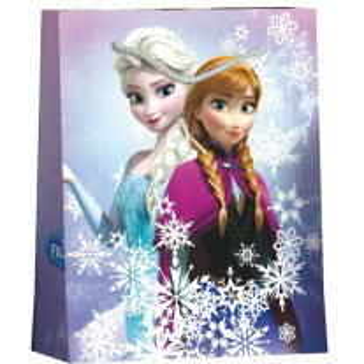 Grand sac cadeau de noel Disney Reine des Neige