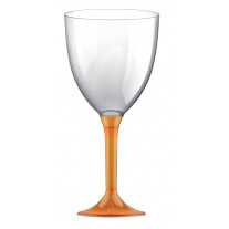 Grand Verre à eau plastique Orange