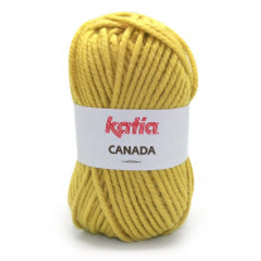 Grosse laine Katia Canada Moutarde
