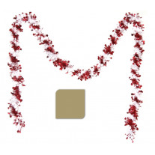 Guirlande de noel Etoile Rouge ou Or