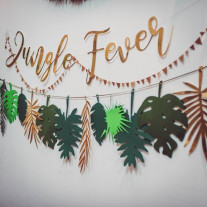 Guirlande deco de salle Jungle Fever