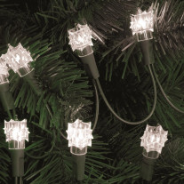 Guirlande lumineuse 50 lampes Diamant Blanches