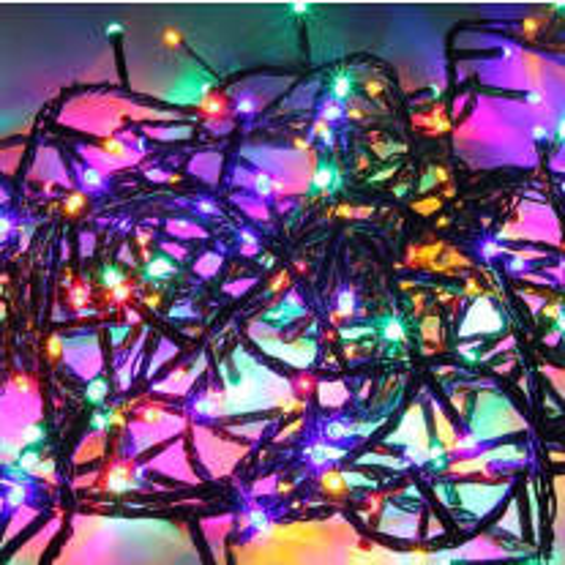 Guirlande lumineuse de noel 300 LED Multicolore