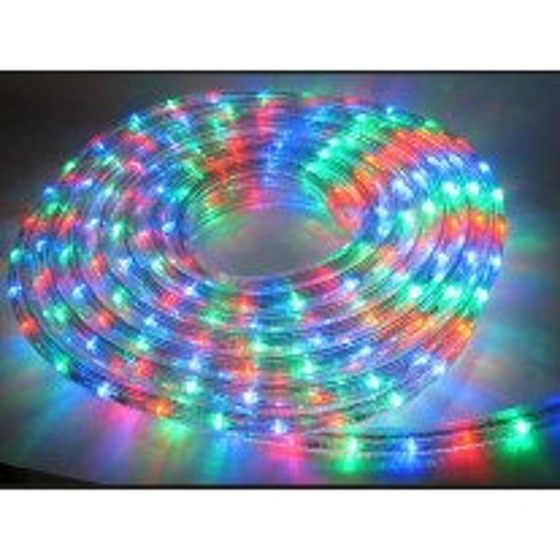 Guirlande tube led multicolore flexible 30 mètres