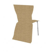 Housse De Chaise En Jute Naturel X 5 Pices
