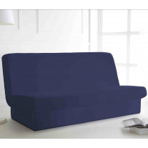 Housse de clic clac Bleu Marine 135x195 cm