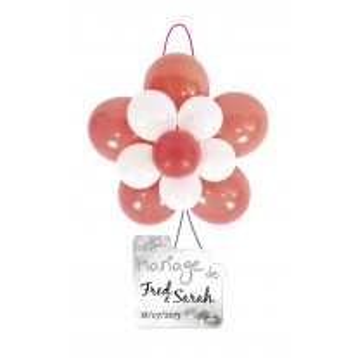 Kit decoration ballon mariage Rouge et Blanc