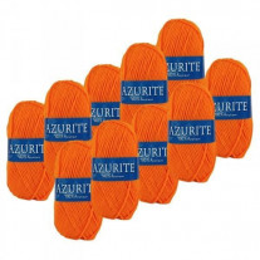 laine Azurite Acrylique Mandarine