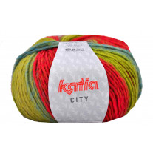 City Katia Vert et Rouge