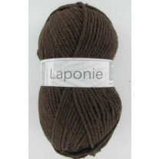 Pelote de laine Cheval Blanc Laponie Chocolat
