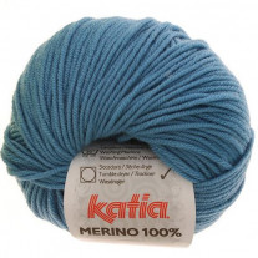 Laine Katia Mérino 100% Turquoise