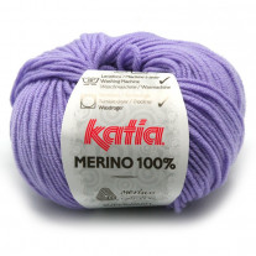 Laine à tricoter Katia 100 % Mérino Parme