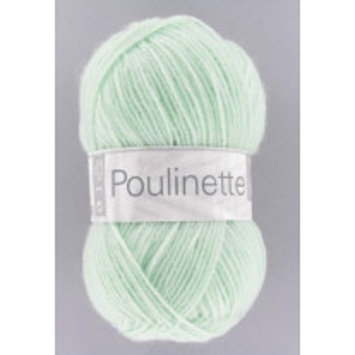 Pelote de laine Poulinette Cheval Blanc Vert d'eau