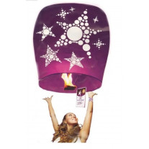 Lanterne volante Voeux Etoile