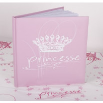 Livre d'or Bapteme Princesse Rose